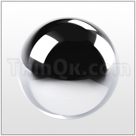 Ball (T801810-13) STAINLESS STEEL