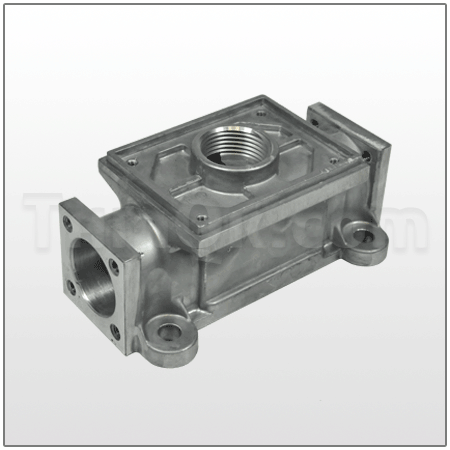 Air Valve housing (T095.106.157) ALU