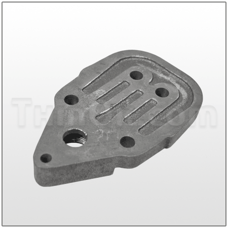 Air inlet (T165.043.010) CAST IRON