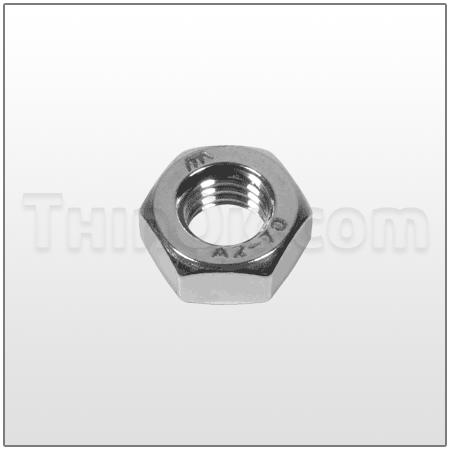 Hex nut (T6-800-37) STAINLESS STEEL